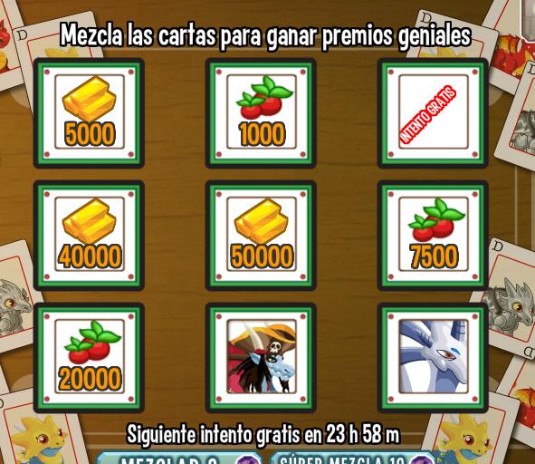 Bonus Diario: Nuevos dragones