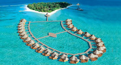 The Maldives. Unbelievably gorgeous.