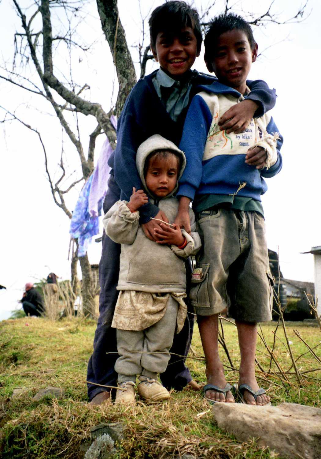 Children in Nepal, ネパールの子ども達