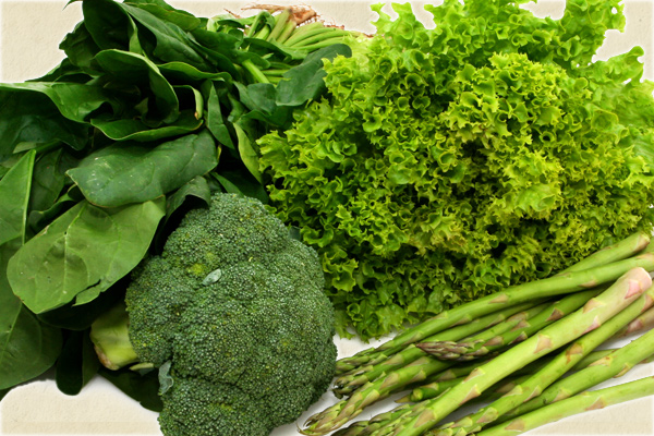 Green foods boost immune system