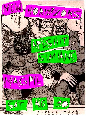 Primitive Urges Stink 'n' Drink @ Magpie Taproom, Saturday