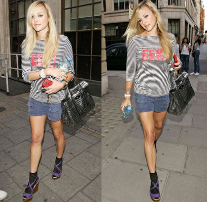 fearne cotton ankle socks with wedges