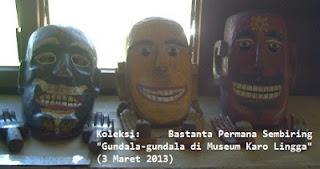 """Koeksi """"gundala-gundala"""" di Museum Karo Lingga"""