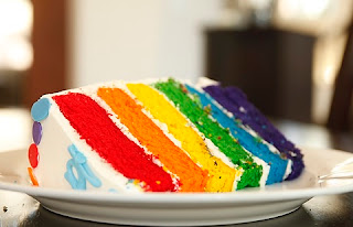 Cara Membuat Rainbow Cake Kukus, resep Cara Membuat Rainbow Cake Kukus
