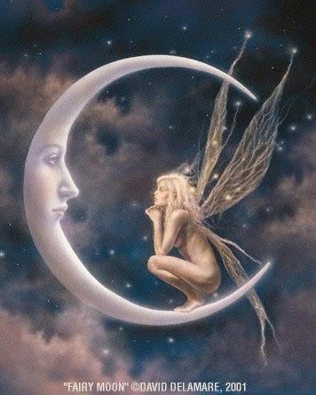 El hada,la luna y la luz en el alma