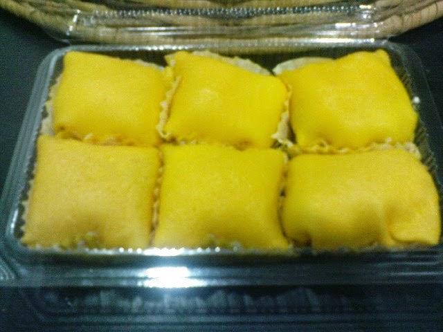 Tempahan Durian Crepe
