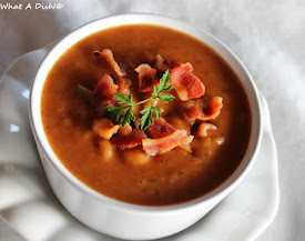 Recently- Homemade Bean & Bacon Soup