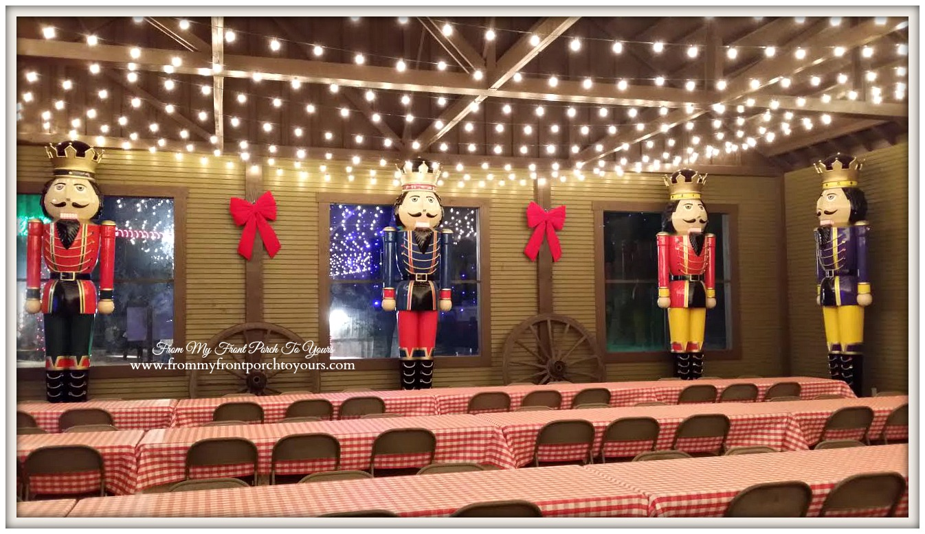 Santa's Wonderland College Station- HUGE Nutcrackers-From My Front Porch To Yours