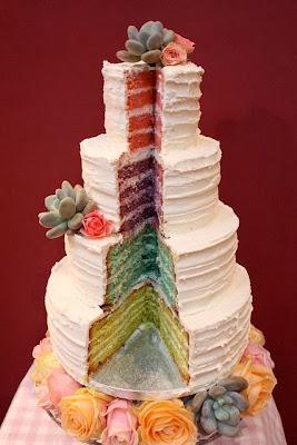 интересна торта за сватба