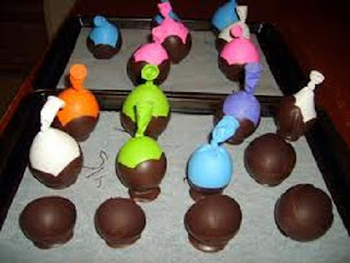 Postres de Chocolate, Canasta de Chocolate, Paso a Paso