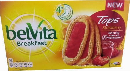 Belvita breakfast biscuit tops strawberry