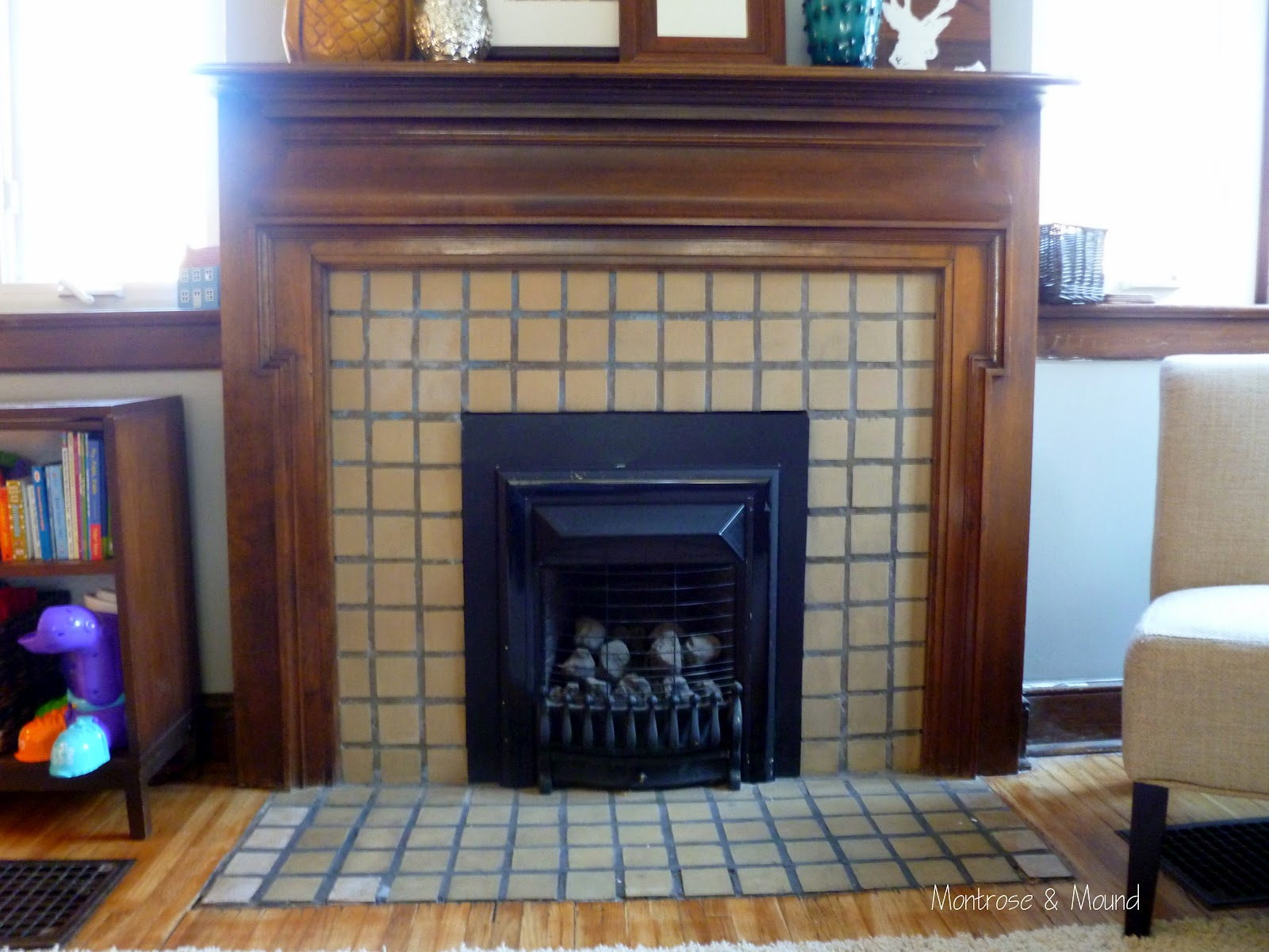 how to paint fireplace tile montrose u0026 mound