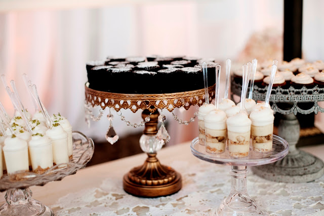 Romantic Wedding Mini Desserts Twin Cities