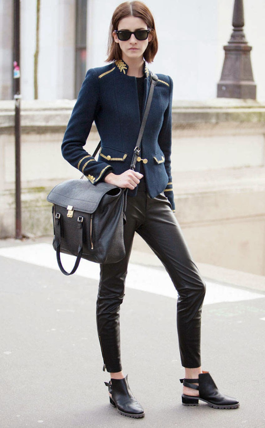 Paris Fashion Week Autumn Winter 2014 Street Style