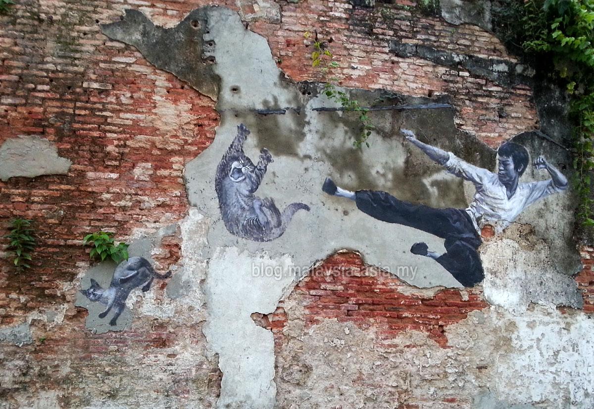 Cute Street Art Penang
