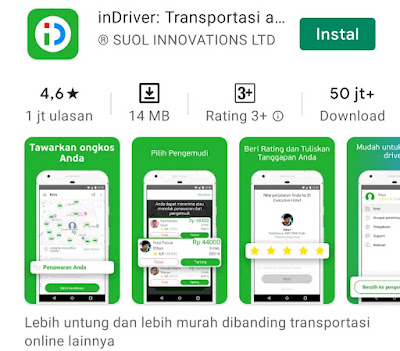 Transportasi Online inDriver Hadir Di Banyuwangi, Pengguna Bisa Menentukan Tarif Sendiri Dengan Fitur RTD