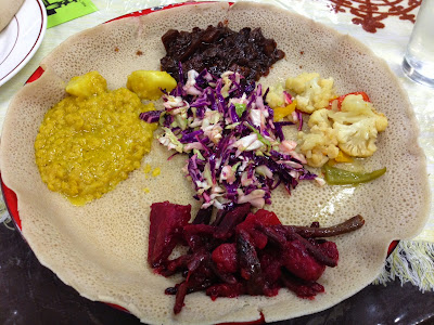 Sacramento Vegan Chef Challenge 2014 — Abyssinia Ethiopian Restaurant