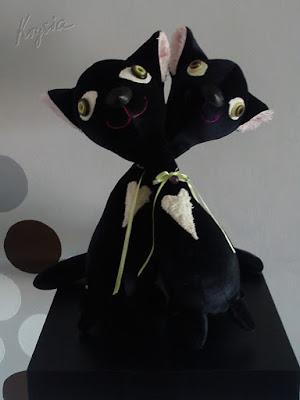 maskotki na zamówienie kotki jagódki