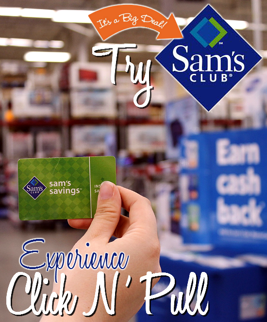have you had a chance to trysamsclub yet their click n pull member