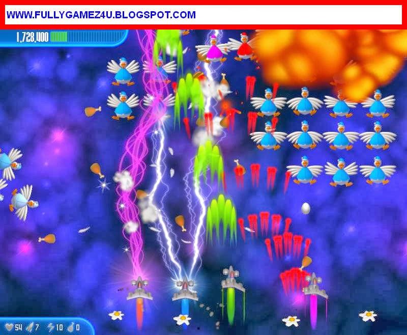 Download Chicken Invaders 4 Game 100% Working
