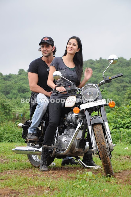 Katrina Kaif takes Hrithik for a ZNMD bike ride