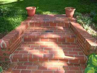 Brick Step using Diamond Blade