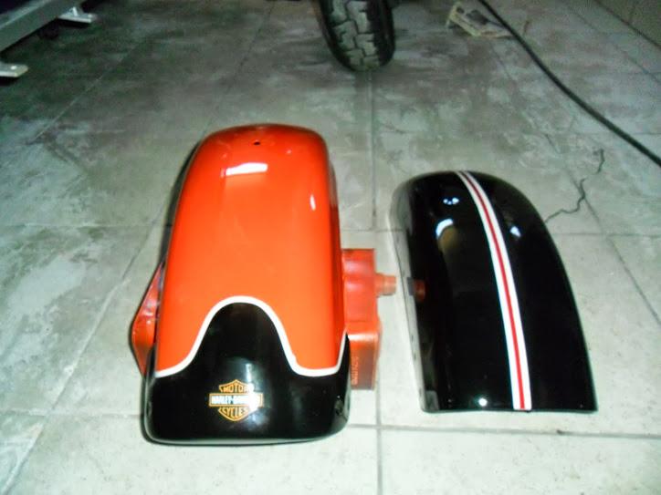 Paralama personalisado para Harley Davidson 883