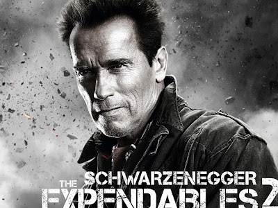 The Expendables 2 powerpoint background 5