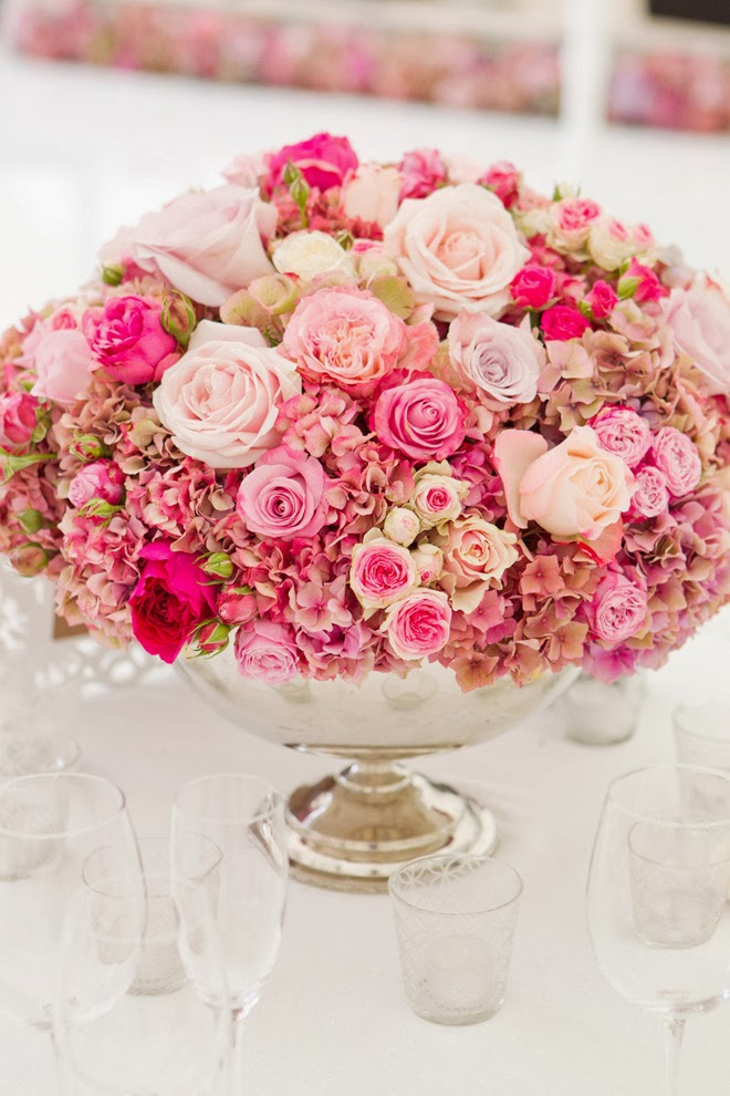The best wedding centerpieces of 2013 belle the magazine for Wedding floral centerpieces