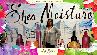 #SheaMoisture Booth Photo at #BlogHer15 #ABetterWayToBeautiful