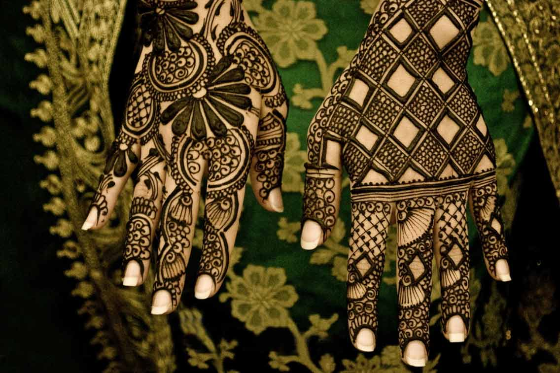 Mehndi Bridal Style : Mehndi styles for bridals wedding