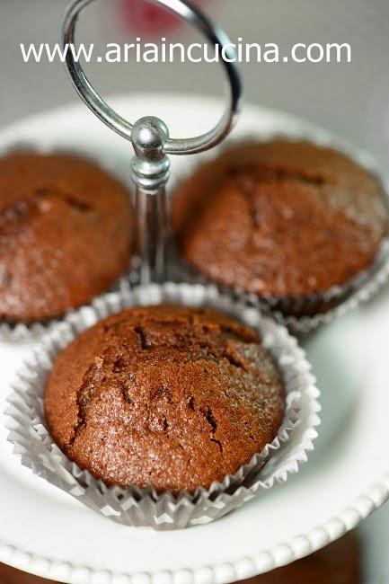 blog di cucina di aria: muffins vegani al cacao - Blog Di Cucina Vegana