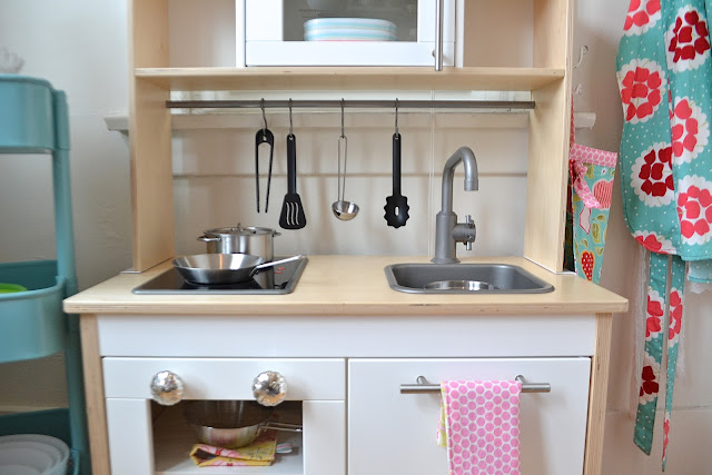 custom IKEA play kitchen by paper{whites}