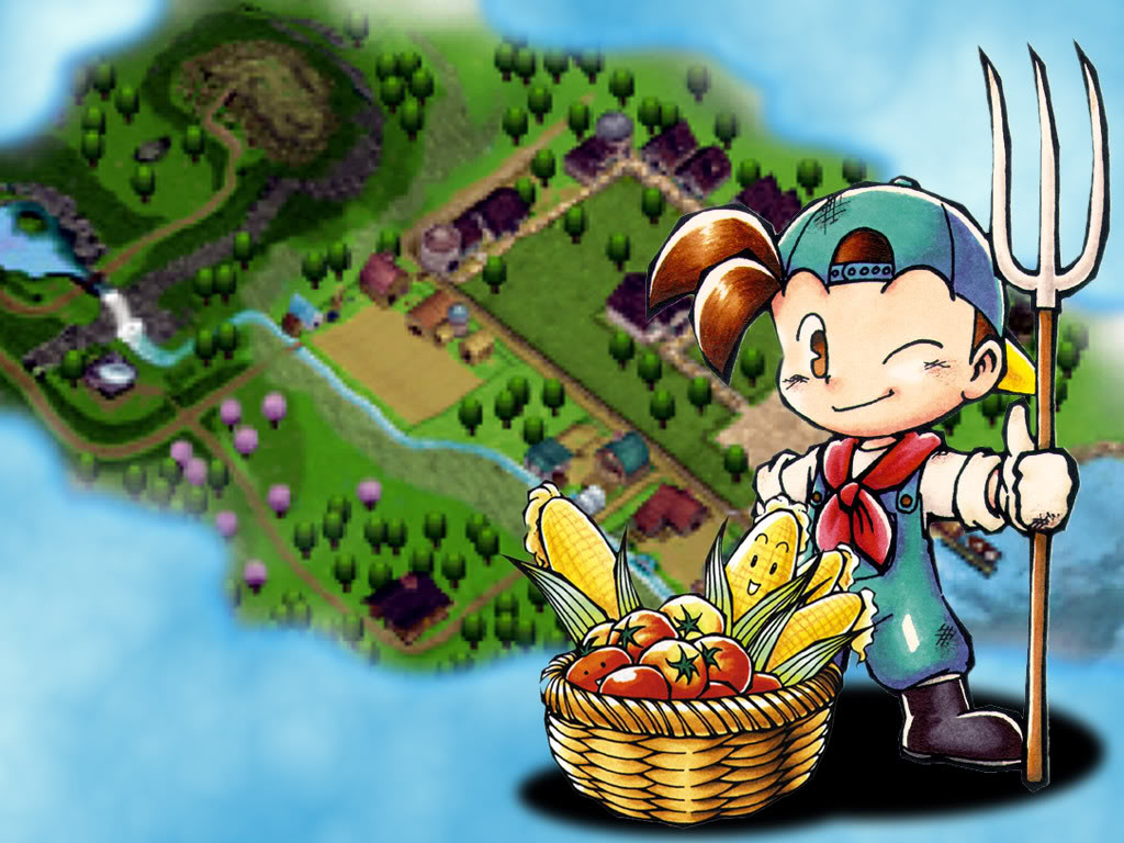 Game Harvest Moon Ps1 The Game Harvest Moon