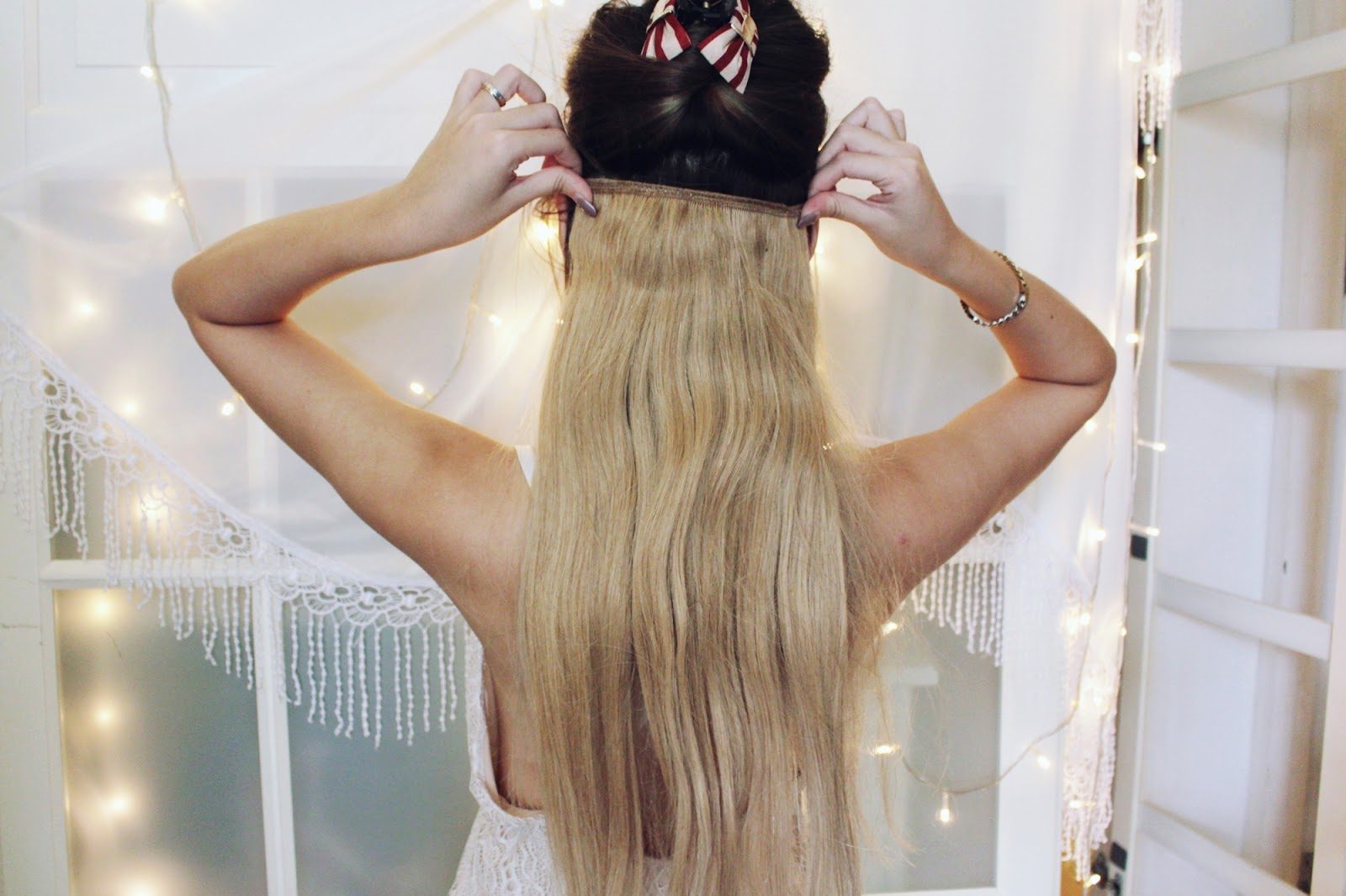 How I Put On Hair Extensions By Irresistible Me