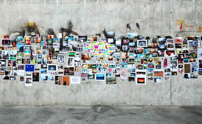 decorar con collages