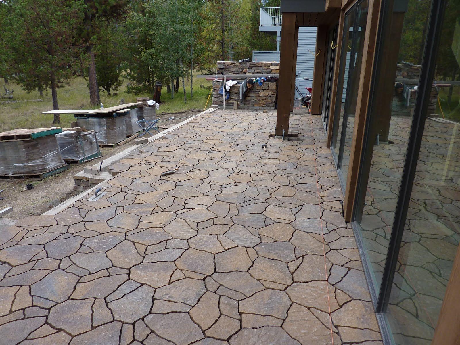 Flagstone Patio Block : Boisineau masonry mega arbel paver patio
