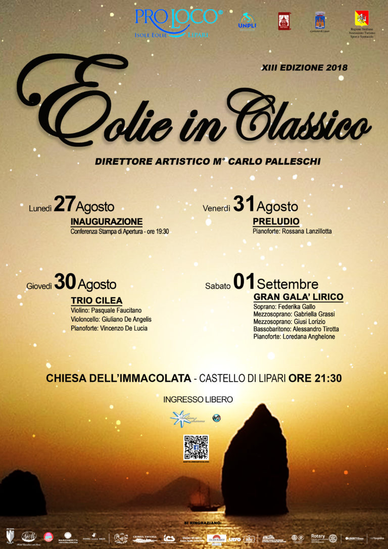 Eolie in Classico XIII 2018