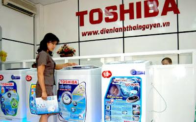 Trung tâm bảo hành Máy Giặt Toshiba tại Thái Nguyên