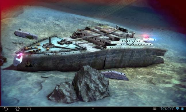 Titanic 3D Pro live wallpaper apk Download