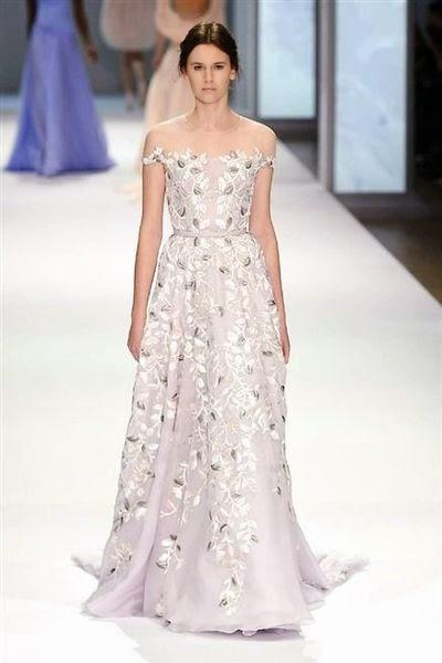 robe haute couture ralph russo les plus belles robes de soirée 2015