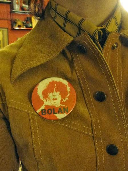 Marc Bolan and Count Bishops pinback button  Sunburst  , Clock , Boxing gloves , Rock'n Roll guitarist brooch  badges Marc Bolan , Count Bishops  broches soleil, horloge , gant de boxe et guitariste rockabilly mod glam rock punk pub pin vintage chiswick t-rex atomic 1950 50s 1960 60s 1970 70s