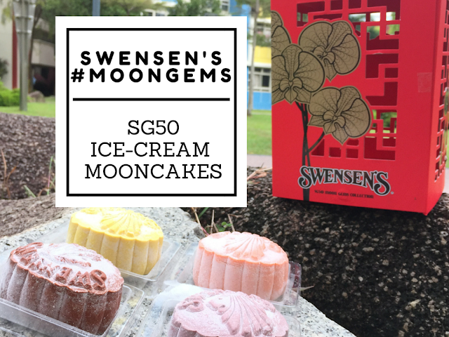 Ice-Cream Mooncakes - Swensen's Moon Gems