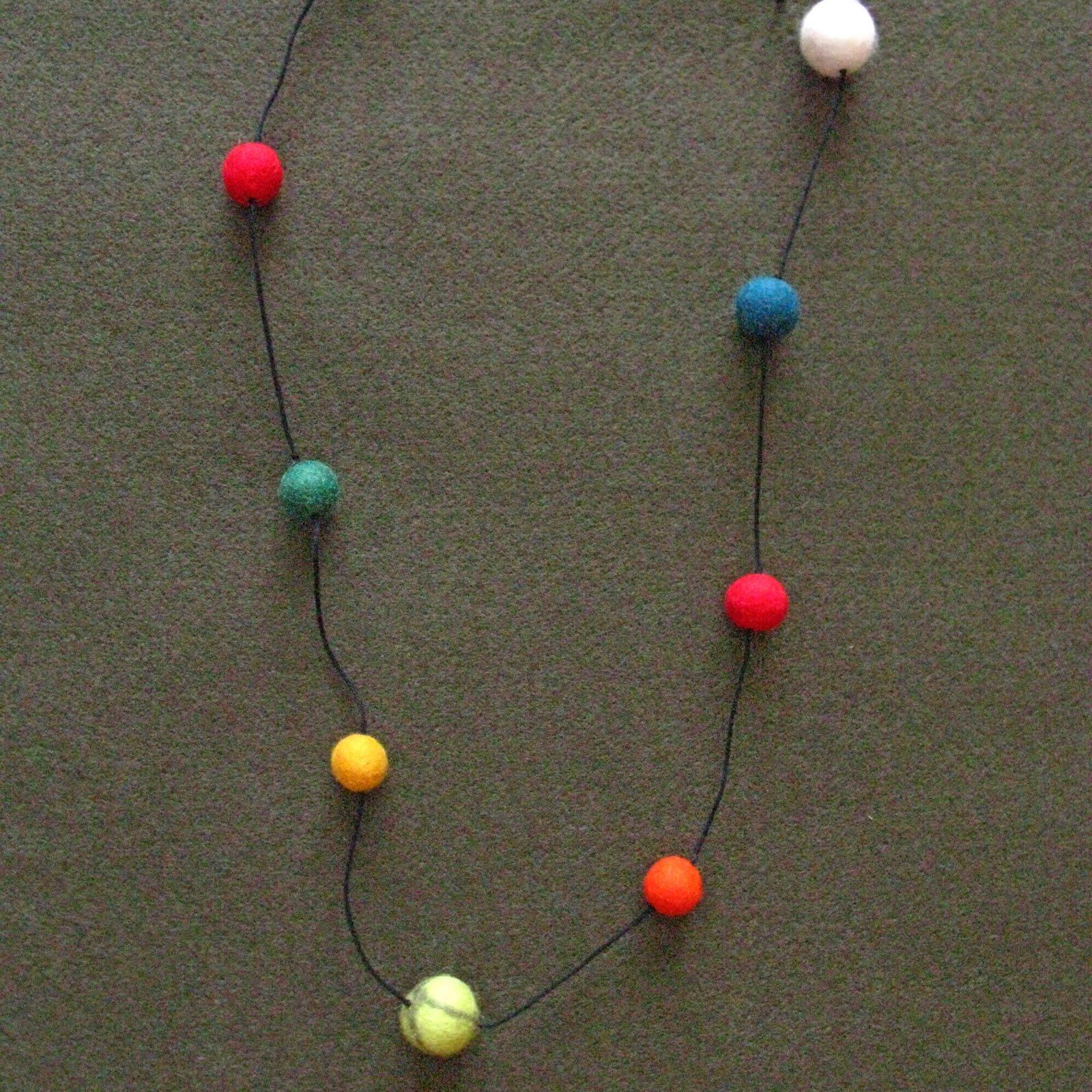 Assez collane feltro pannolenci e stoffa | Le manie di Laura LH84