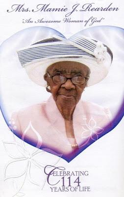Mamie Rearden, Oldest American Dies