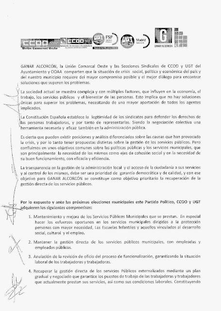 CARTA COMPROMISO GANAR ALCORCÓN