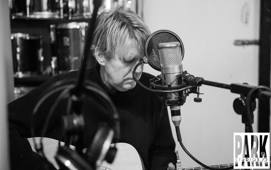 Birmingham recording studio Park Studios JQ | recording guitars