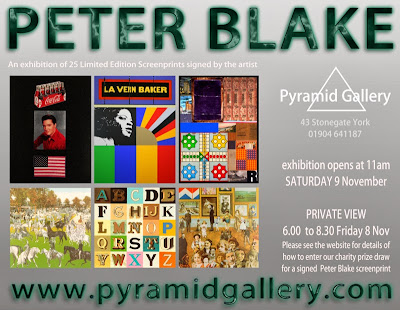 http://www.pyramidgallery.com/peter-blake-york-exhibition/