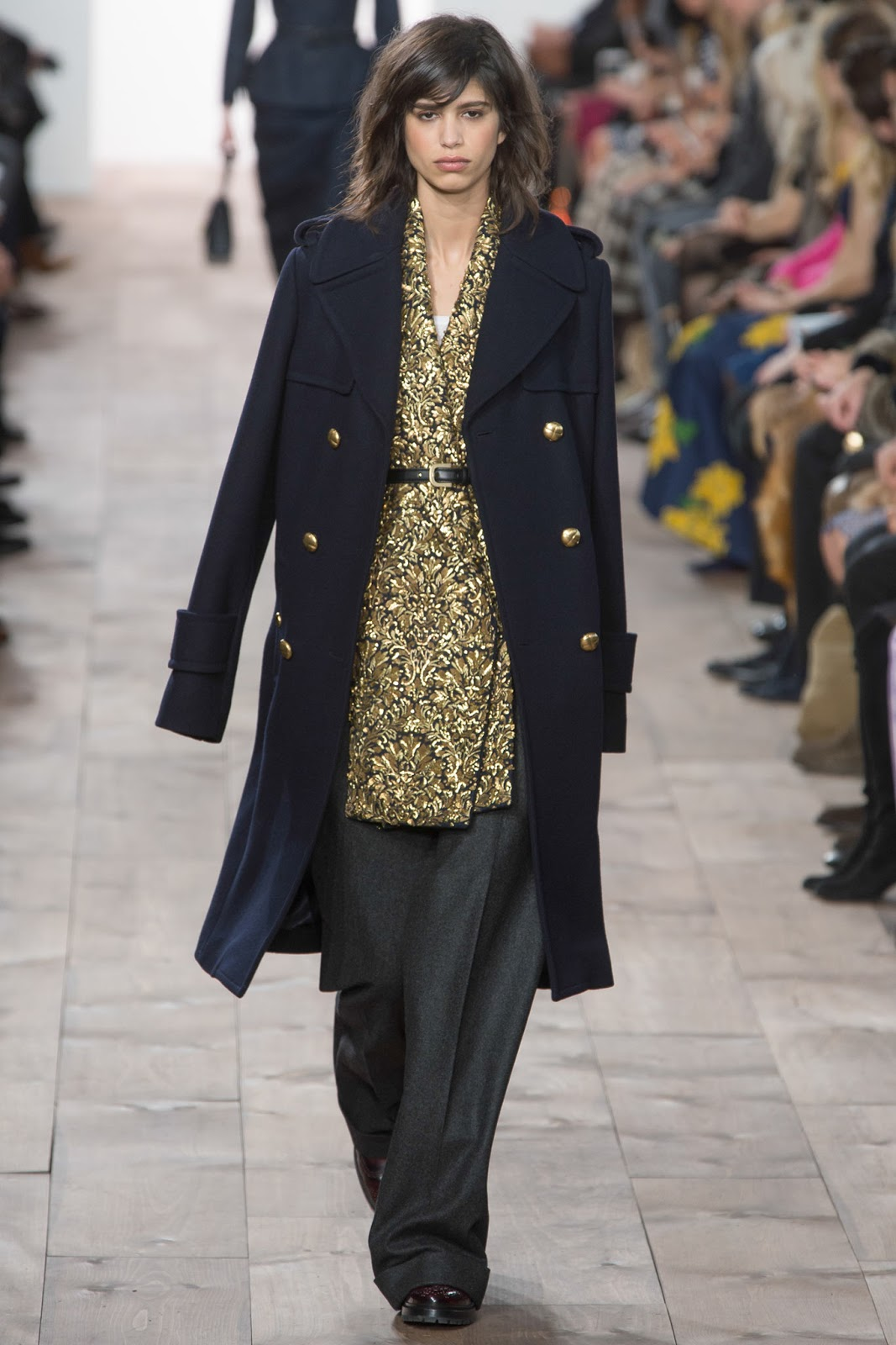 Michael Kors Fall/Winter 2015 collection; review & photos