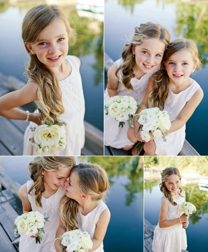 cute flower girls vancouver photo